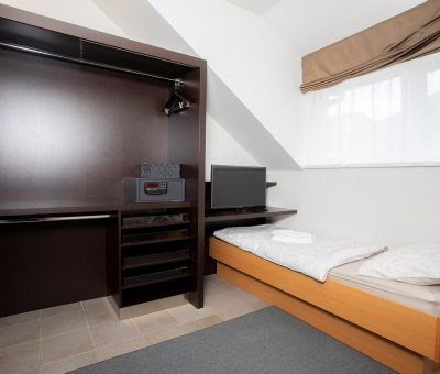 Bedroom with Extra bed and Wardrobe